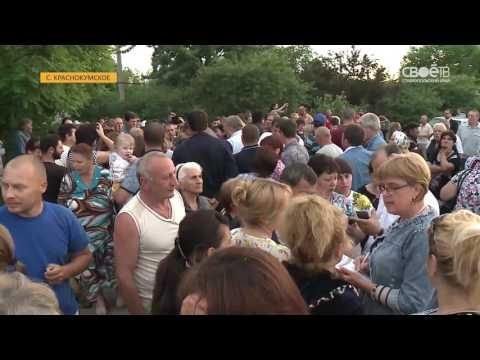 Губернатор Ставрополья Владимир Владимиров встретился с жителями села Краснокумского