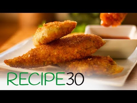 How to make Chicken Tenderloins with Super Crunch and Italian Flavours