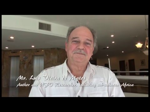 Interview to Mr. Luis Vieira de Matos African UFO Researcher, Pilot and Author