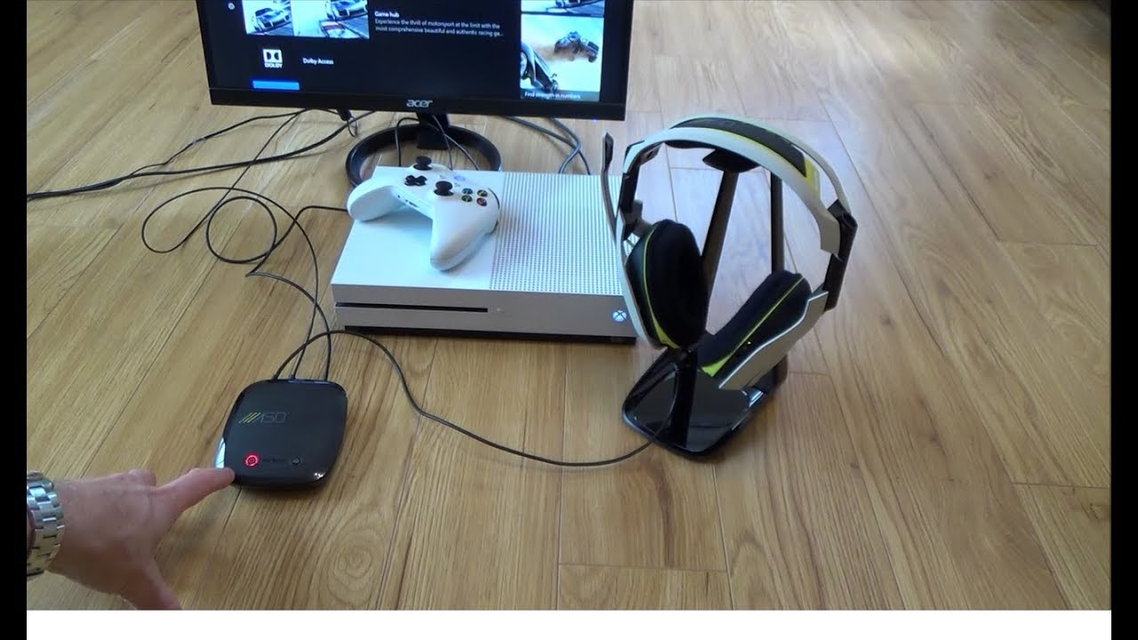 How to Setup the Astro A50 Wireless Headset on the Xbox One S Console