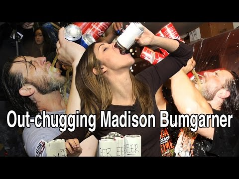 Out-chugging Madison Bumgarner