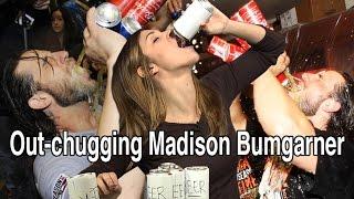 Out-chugging Madison Bumgarner
