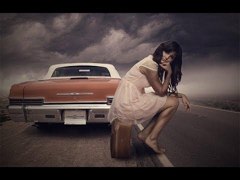 Создание коллажа Автостоп в фотошопе.