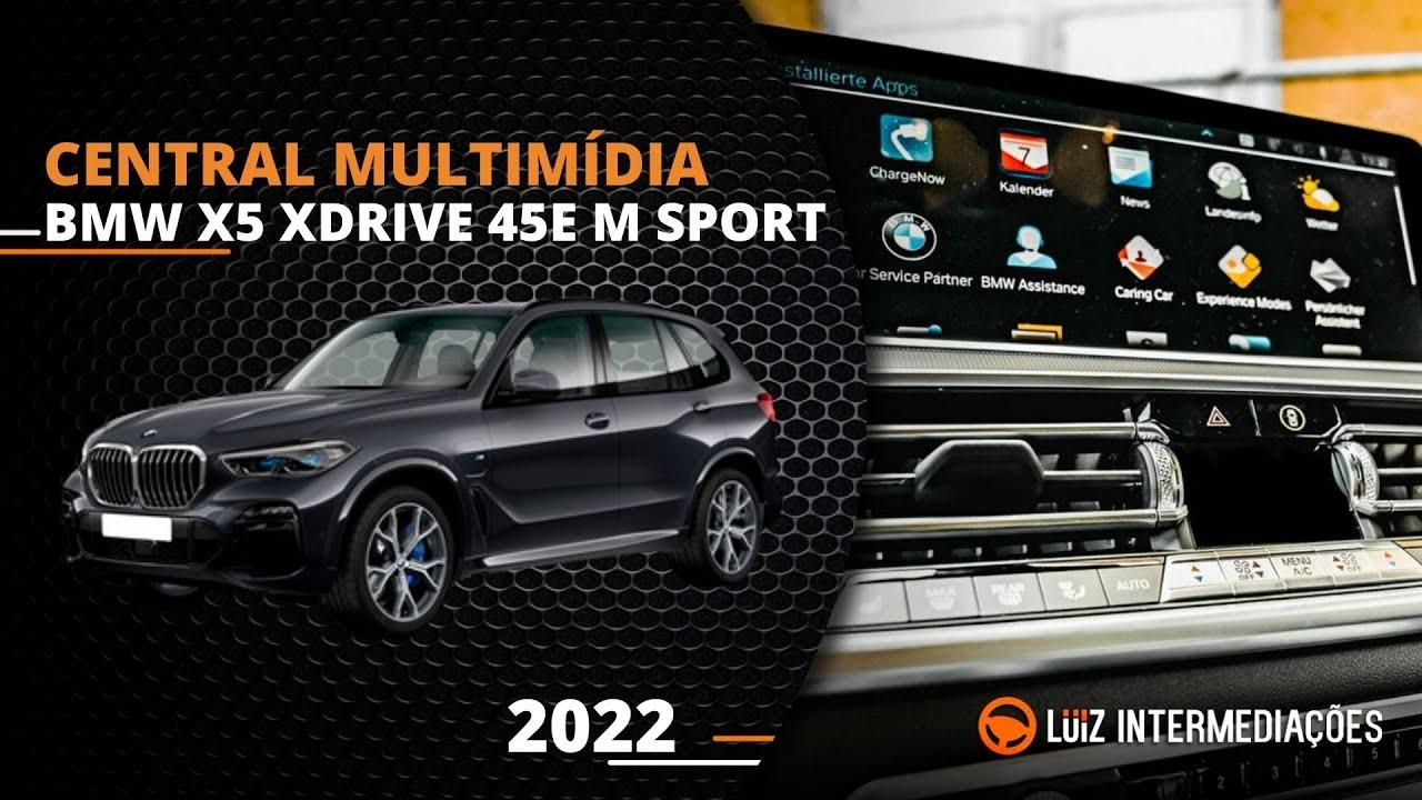 Central multimídia   BMW X5 XDRIVE 45E M SPORT 2022