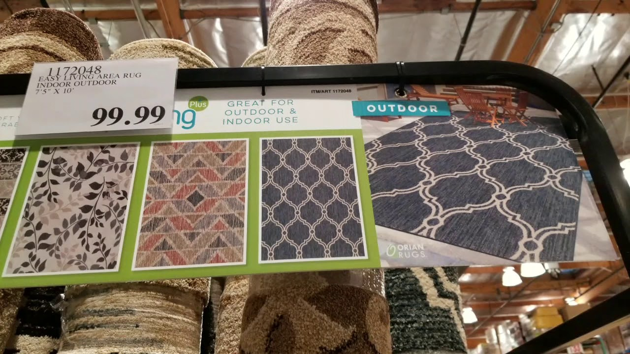 Costco Area Rugs Various Sizes And Designs 99 To 229