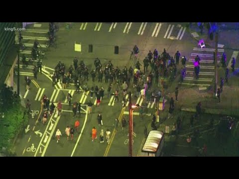 Second Day Of Miami Protests Ends Peacefully; Minor Damage ...