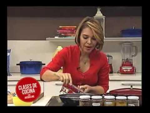 Clases de cocina con jacqueline henriquez youtube - Cursos de cocina sabadell ...