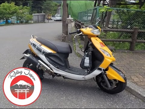 #145 50cc Scooter with 250cc Engine