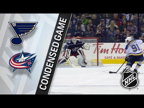 St. Louis Blues vs Columbus Blue Jackets – Mar. 24, 2018 | Game Highlights | NHL 2017/18. Обзор