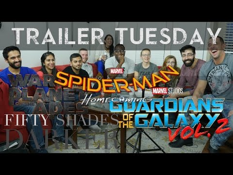 TRAILER TUESDAY! Spiderman, Guardians, Apes...