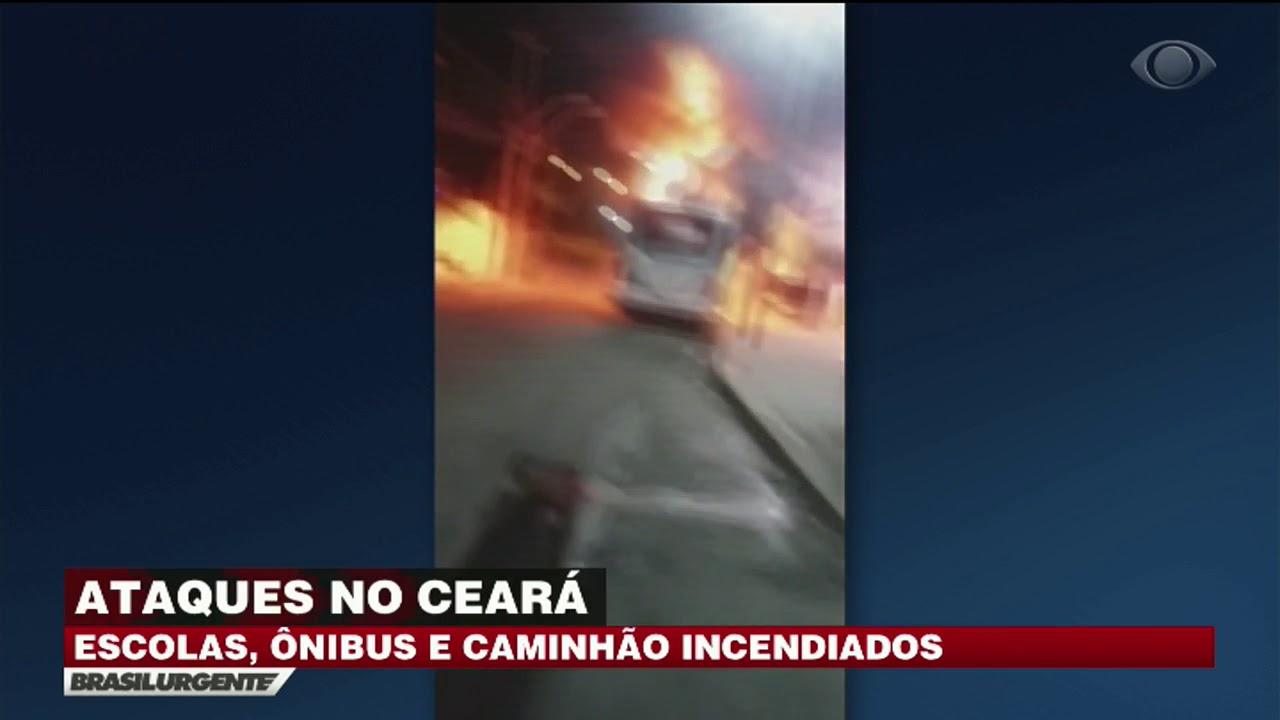 CE: Escolas e ônibus são alvos de novos ataques