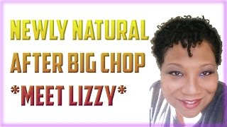 Natural Hair Journey With Lizzy - 7 Months After Big Chop!