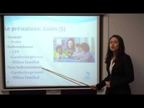 Système Éducatif Au Québec - Garderie Et Maternelle