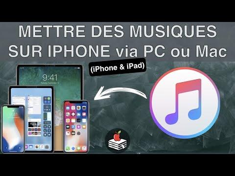 COMMENT METTRE DES MUSIQUES SUR IPHONE, et autre appareil iOS via iTunes et autres services d'Apple