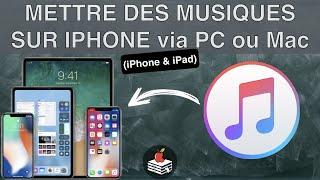 Mettre des musiques sur iPhone, et autre appareil iOS via iTunes et autres services d'Apple