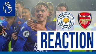 'No Better Feeling!' - James Maddison | Leicester City 2 Arsenal 0