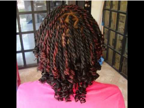 Safiya S Creations Curly Senegalese Twist Styles Youtube
