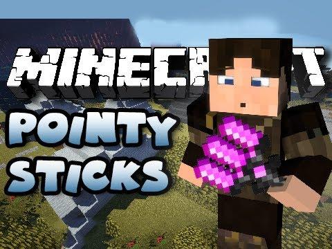 Minecraft - Minecraft | POINTY STICKS MOD - MAGICAL STICKS