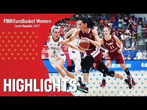 Serbia v Latvia - Highlights - QF-Qual - FIBA EuroBasket Women 2017
