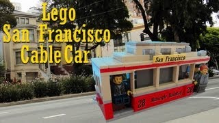 Lego San Francisco Cable Car