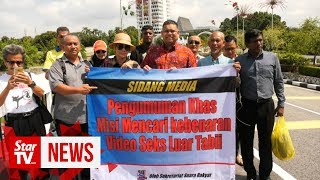 Lokman: Sex video to be verified in Indonesia