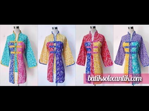 Model Baju Batik Kombinasi Wanita Pembelian Batik Klik
