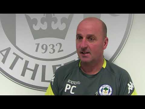 "PAUL COOK: ""We're all delighted for AFC Wimbledon on their stadium news this week."""