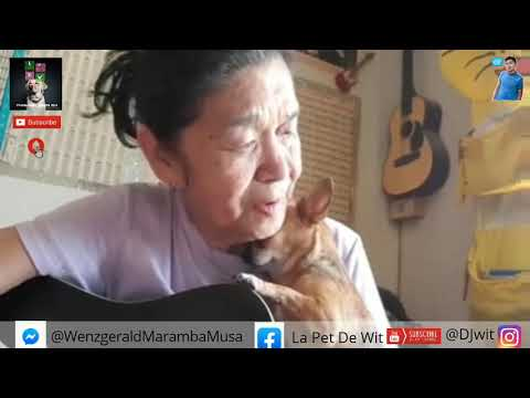 This Little Cute Dogs Want a sing From Her Grandma