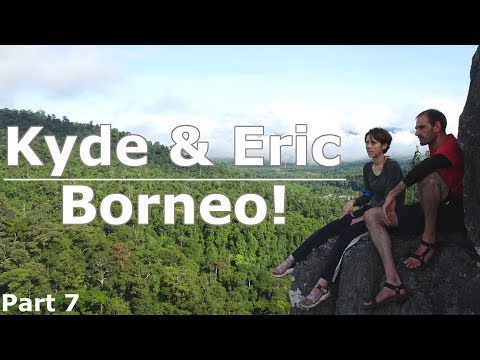 Borneo!   Climbing Batu Punggul!