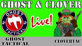 Ghost & Clover LIVE!  Q&A and Rabbit Hole Mania