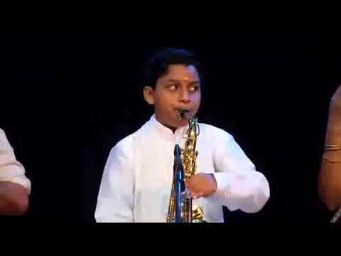 Vathapi Ganapathim - Saxophone Pravin Pundit Disciple Of Dr.T.V.Gopalakrishnan.