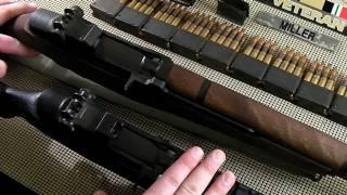 M1 Garand and M1A Comparison
