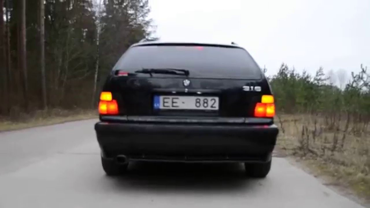 bmw 325 tds sound strart engine power diesel touring e36 youtube. Black Bedroom Furniture Sets. Home Design Ideas