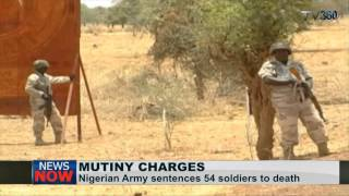 Mutiny: Nigerian army sentences 54 soldiers to death