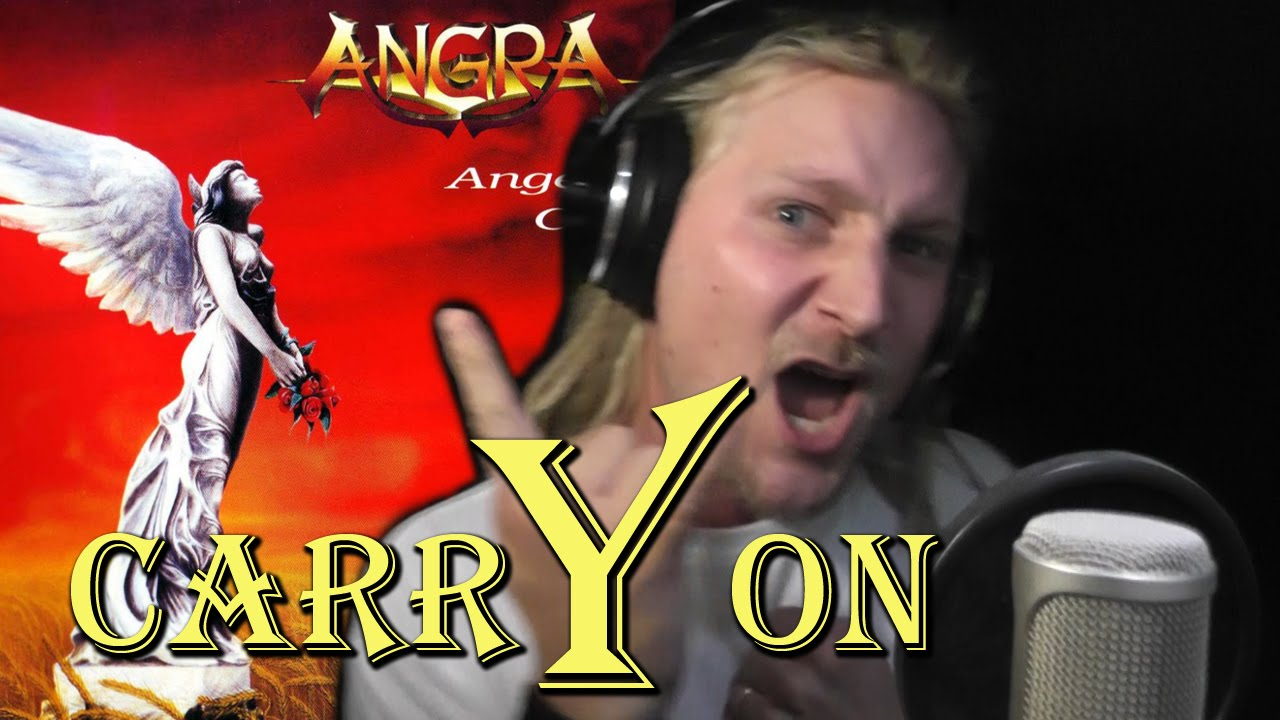 ANGRA - CARRY ON (Live Vocal Cover and Acapella)