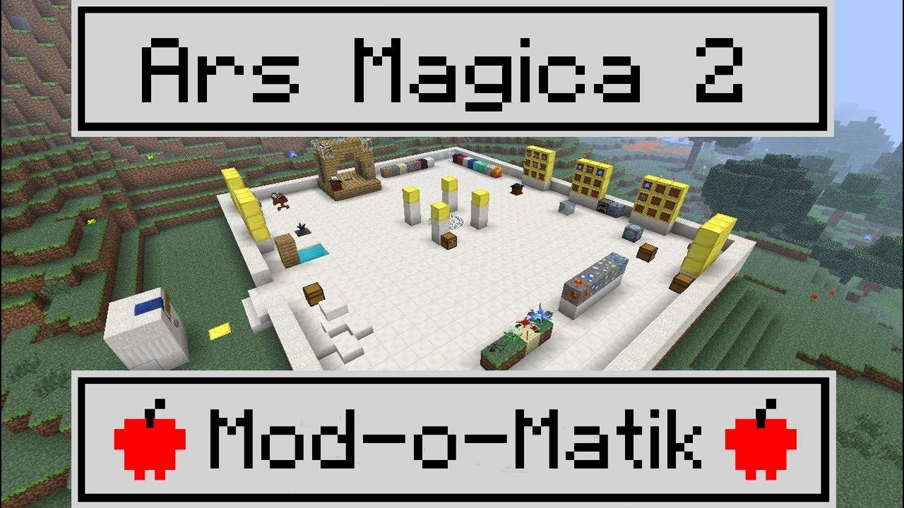 Minecraft Pocket Edition Ars Magica 2