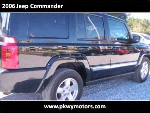 2006 jeep commander used cars panama city fl youtube for Parkway motors panama city