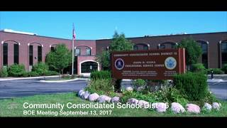 BOE September 13, 2017 Meeting screenshot 4
