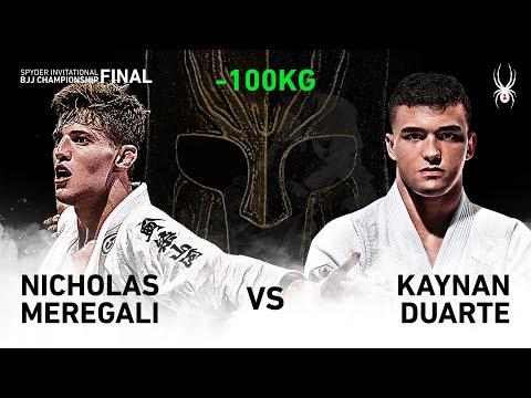 2019 SPYDER INVITATIONAL BJJ CHAMPIONSHIP FINAL -100kg Final : N.Meregali Vs K.Duarte(Full)