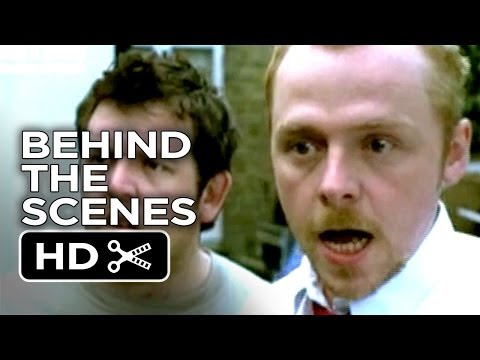 Shaun of the Dead Behind the Scenes - Zombie Effects (2004) - Simon Pegg, Nick Frost Movie HD