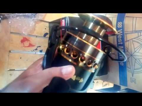 Penn Battle II 8000 - unboxing