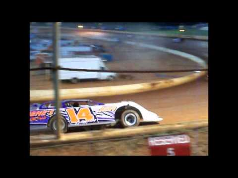 A hobby Hot laps and Heat Race North Georgia Speedway Featuring Ralph Langston 9/12/2015