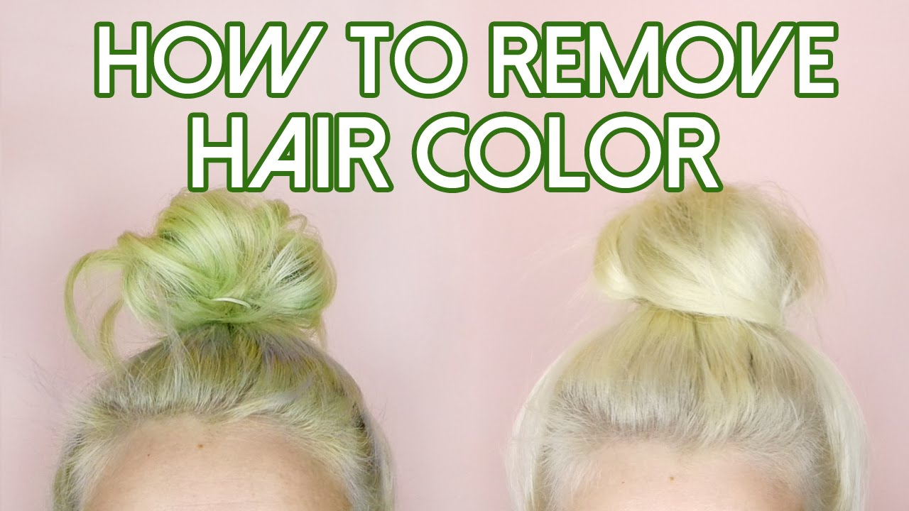 How To: Remove Hair Color\/Stripping for Stained Hair