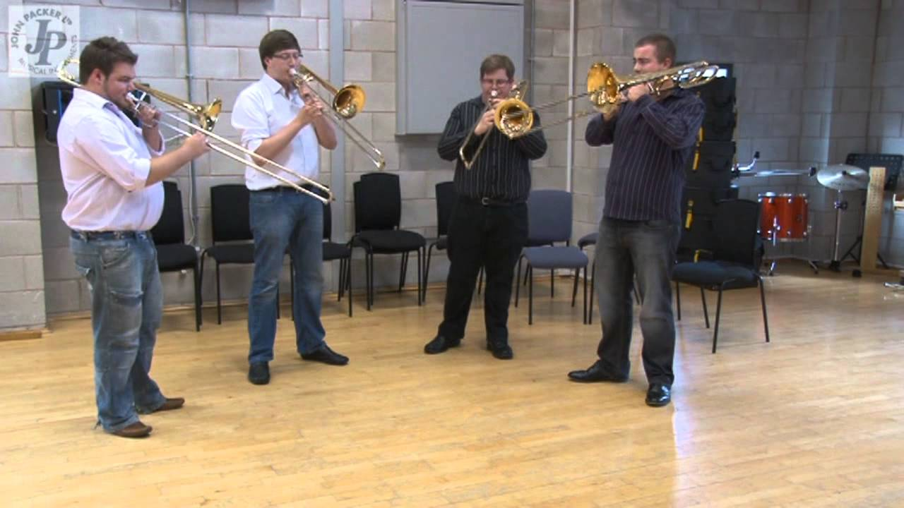 JP Rath Trombone Review by Trombone Ensemble, Slidin' About