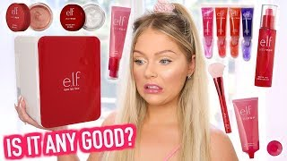 NEW ELF JELLY POP MAKEUP | FULL FACE FIRST IMPRESSIONS