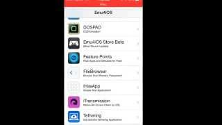 How to: get the Emu4ios app & how to use it