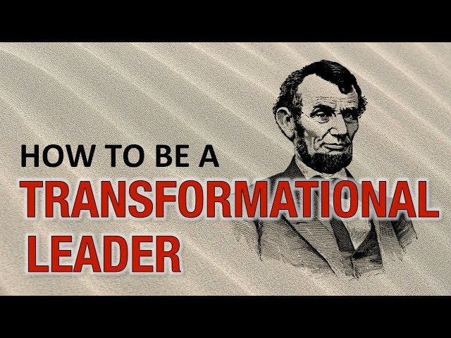 How to be a Transformational Leader (ANIMATED) | What is Transformational Leadership?
