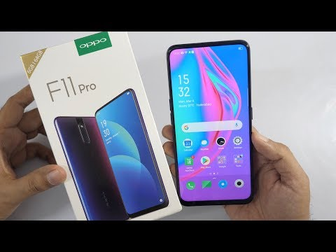 Oppo F11 Pro with Rising Camera Unboxing & Overview