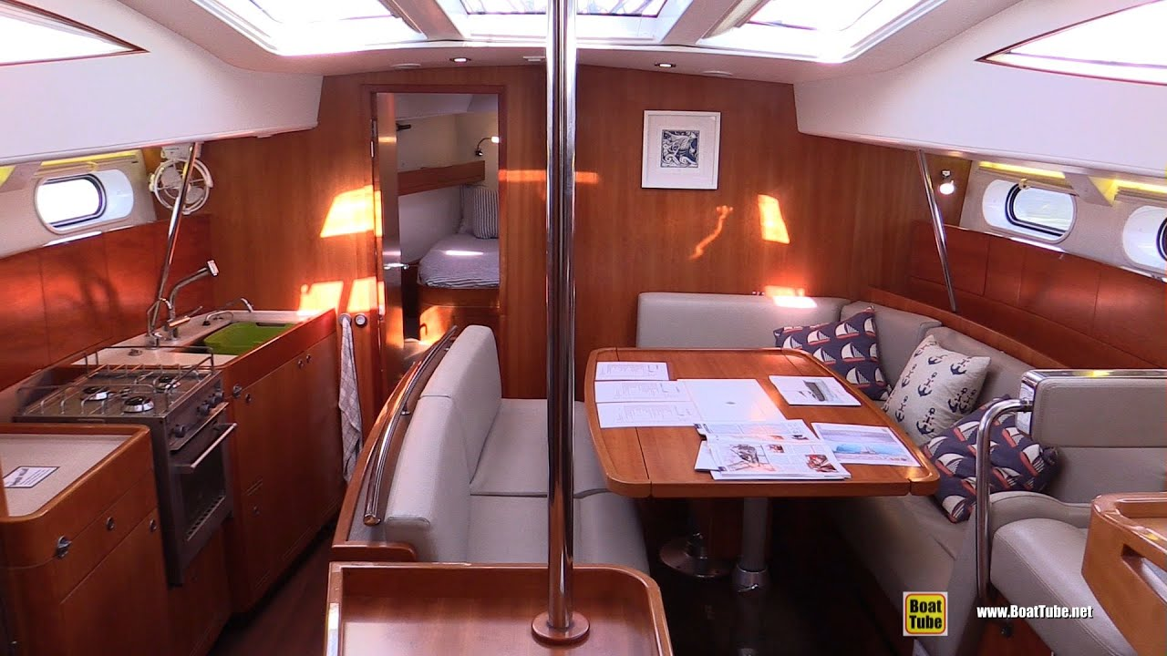 2015 Allures 45 Sailing Yacht Deck And Interior