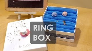 紙盒改造-戒指收納盒 Ring Box | Life樂生活 | 創意小短片  |【示範老師】太瑞莎
